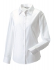 Blouse Oxford ladies lange mouw