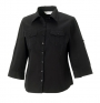 Blouse Roll Sleeve ladies lange mouw